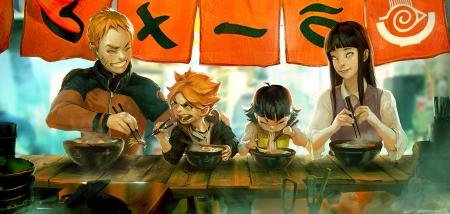 Naruto S Family Naruto Anime Background Wallpapers On Desktop Nexus Image 1975133