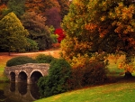 Stourhead Bridge, UK