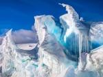 Nature's Sculpture in Ice