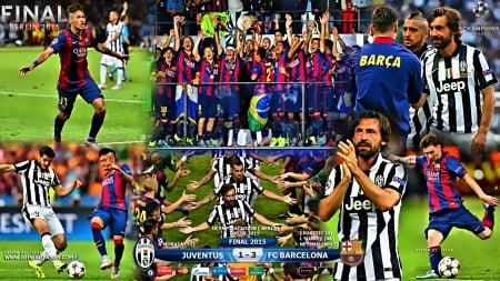 Juventus Fc Barcelona Uefa Champions League Final 2015 Football Sports Background Wallpapers On Desktop Nexus Image 1975541