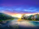 Tranquil landscape