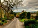 Beautiful village in England