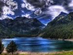 Lake at Pyrenees