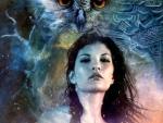 'Her guardian spirit'....