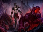 Dark Warrior And Pets