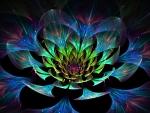 3D Lotus Flower