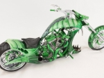harley davidson green cobra