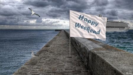 ⊱u2022╮Happy Weekend ╭u2022⊰   Dock, Gull, Sea, Hq