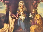 St Therese and the Holy Family