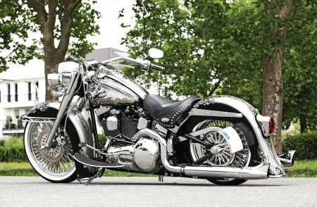 2003-Harley-Davidson-Softail-Heritage - HD, Bike, 2003, Chrome