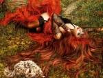 Redhead Fantasy