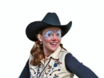 Cowgirl Rodeo Clown
