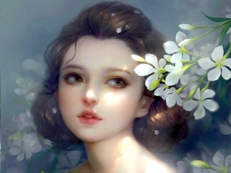 SWEETNESS - beauty, art, cg, girl