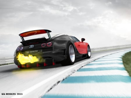 Bugatti Veyron Backfire - volkswagen, bugatti supersport, devel16, bugatti vitesse, fast car, bugatti veyron tuning, bugatti wallpaper, kkd, beast, 1001bhp, backfire, sportscar, supercar, flame on, bug, fire, kk designs, bugatti, race car, virtualtuning, bugatti tuning, top gear, shmee150, bugatti veyron backfire, arab car, car wallpaper, car, track car, bugatti lafinale, down force, london car, fastest car, bugatti on track, worlds fastest car, hypercar, new bugatti, tuning, bugatti crash, german car, desktop nexus, nurburging, bugatti race car, jet, bugatti backfire, veyron