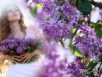 Sweet intoxicating smell of lilac