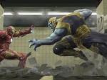 Ironman vs Chitauri