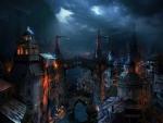 'Dark medieval city'.....