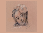 little girl by Jean-Honoré Fragonard