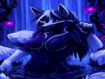 Blue Wolf Furry