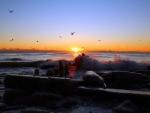Sunrise at Lake Michigan