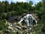 Inglis Waterfall, Bruce Peninsula, Ontario, Canada