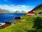 Husar Church, Kalsoy Island, Faroe Island.