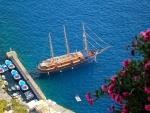 Aegean Sea, Santorini, Greece