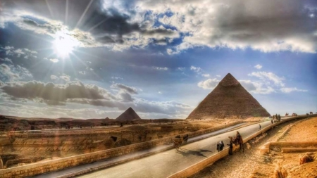 The Pyramids - amazing, pyramid, ancient, egypt