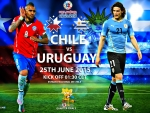 CHILE - URUGUAY COPA AMERICA 2015