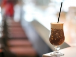 Coffee with orange-cinnamon flavor