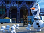 Olaf and the snowgies