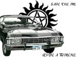 Save The Impala Ride A Winchester Wallpaper