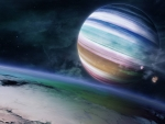 Colorful planet