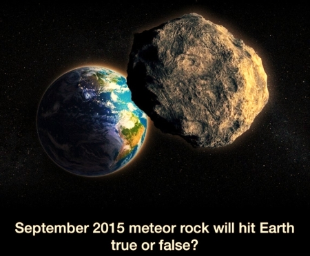 'Is this true or false'????? - meteor, earth, doomsday, space