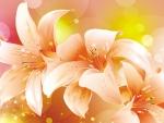 Tiger Lilies Shine