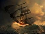 'Stormy seas'.....