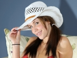 Happy Cowgirl, Veronica Hill