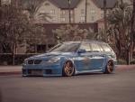 BMW E61 Stance
