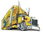Lowriding Semi Truck