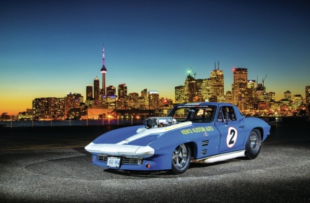 1966-Chevrolet-Corvette /Pro Street\ - Chevrolet & Cars Background