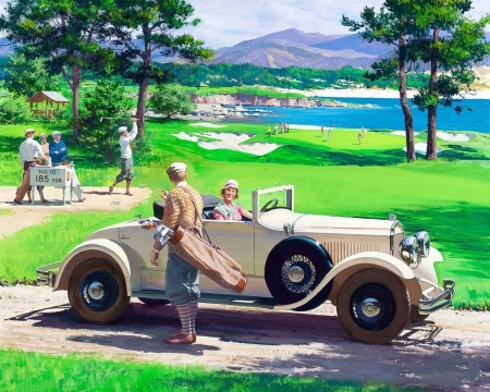 Chrysler Imperial Roadster - 1929 - draw and paint, love four seasons, brands, attractions in dreams, cars, people, golf, summer, Chrysler 1929, retro car