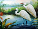 White Heron Egret Bird Of Paradise.jpg