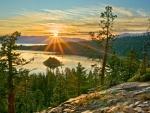 Sunrise over Lake Tahoe