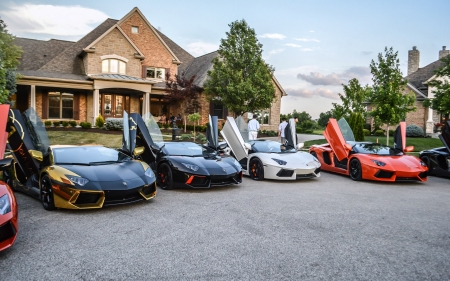 Lamborghini Get Together Lamborghini Cars Background Wallpapers