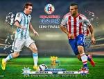ARGENTINA - PARAGUAY SEMI-FINALS COPA AMERICA 2015