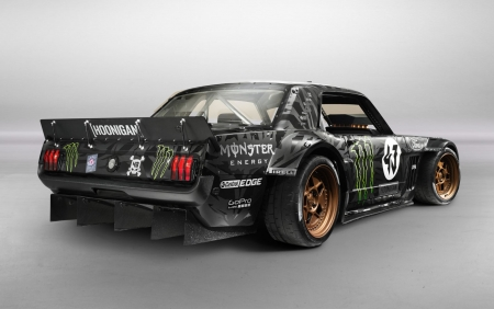 Hoonigan 1966 Ford Mustang - Ford & Cars Background