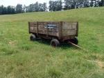 Farm Wagon w/ Wood Sides