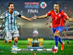 ARGENTINA - CHILE COPA AMERICA FINAL 2015