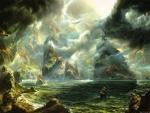 Fantasy Cloudy Scenario