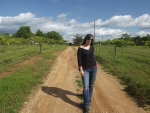Walking Cowgirl